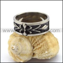 Unique Stainless Steel Casting Ring  r003048