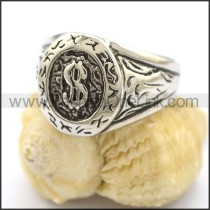 Unique Delicate Stainless Steel Ring r001830