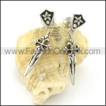 Fashion Stainless Steel Stone Earrings   e000660