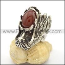 Vintage Stone Ring    r002777