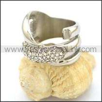 Elegant Stainless Steel Ring r002573
