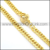 Delicate Golden Plated Necklace n000665