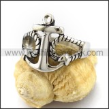 Unique Stainless Steel Casting Ring  r003012