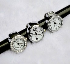 Silver Modern Ring Watch PW000029
