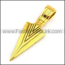 Delicate Stainless Steel Plating Pendant  p003062