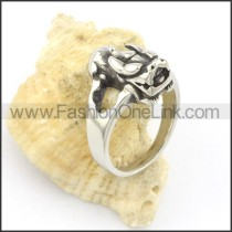 Exquisite Stainless Steel Ring r001502