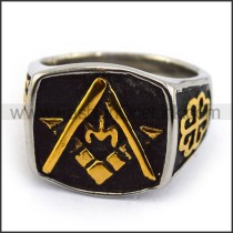 Exquisite Stainless Steel Casting Ring  r003619