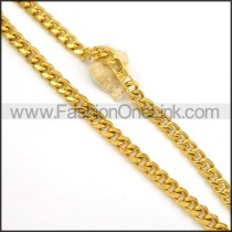 Golden Plated Necklace  n000136