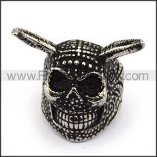 Stainless Steel Skull Ring  r003690