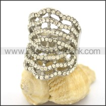 Delicate Shiny Stone Ring  r002172