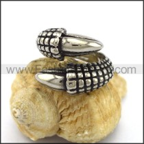 Exquisite Stainless Steel Casting Ring  r003313