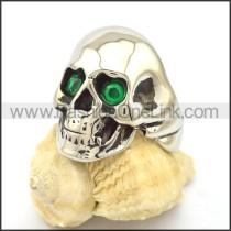 Stainless Steel Skull Ring  r001978