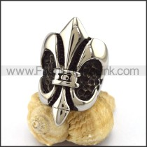 Delicate Stainless Steel Cross Ring    r002943