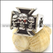 Popular Stainless Steel Skull Ring  r002127