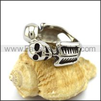 Unique Stainless Steel Skull Ring  r003230