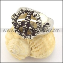 Vintage Skull Ring r001409