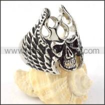 Stainless Steel Devil Ring r000297