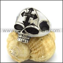 Unique Stainless Steel Skull Ring  r003218