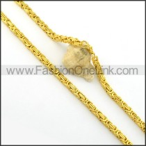 Delicate Golden Plated Necklace       n000397