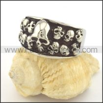 Unique Design Popular Skull Ring r001351