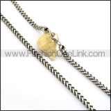 High Quality Stamping Necklace n000680