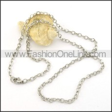 Delicate Stainless Steel  Small Chain    n000419