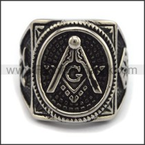 Delicate  Stainless Steel Casting Ring   r003408