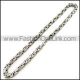 Interlocking Stamping Necklace n001076