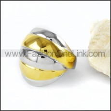 Stainless Steel Plated Ring r000035