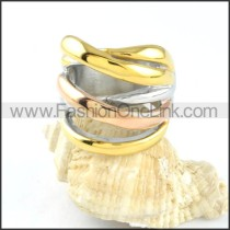 Stainless Steel Plated Ring r000127