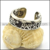 Delicate Stainless Steel Casting Ring  r002231