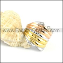 Stainless Steel Ring Stack Design Ring r000140
