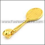 Delicate Stainless Steel Plating Pendant   p003391