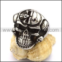 Exquisite Stainless Steel Skull Ring r002901