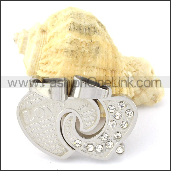 Exquisite Stainless Steel Couple Pendant  p000950