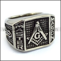 Exquisite Stainless Steel Casting Ring  r003609