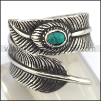 Exquisite Staninless Steel Casting Ring  r003444