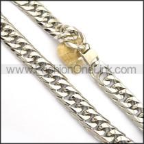 Exquisite Interlocking Stamping Necklace n000981