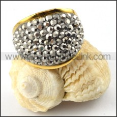 Stainless Steel Big Rings for Women  r000211