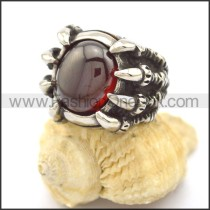 Vintage Stone Stainless Steel  Ring r002329