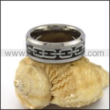 Elegant Stainless Steel Ring r003106
