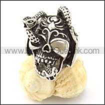 Stainless Steel Fashion Skull Ring r000678