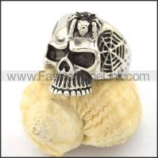 Dlicate Skull Ring r001574