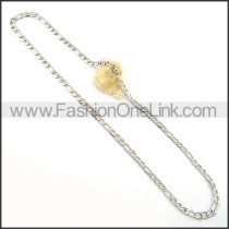 Fine Silver Stamping Necklace      n000245