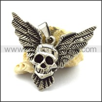 Unique Stainless Steel Skull Pendant  p001884