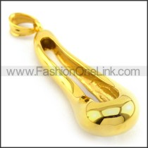 Delicate Stainless Steel Plating Pendant   p003399