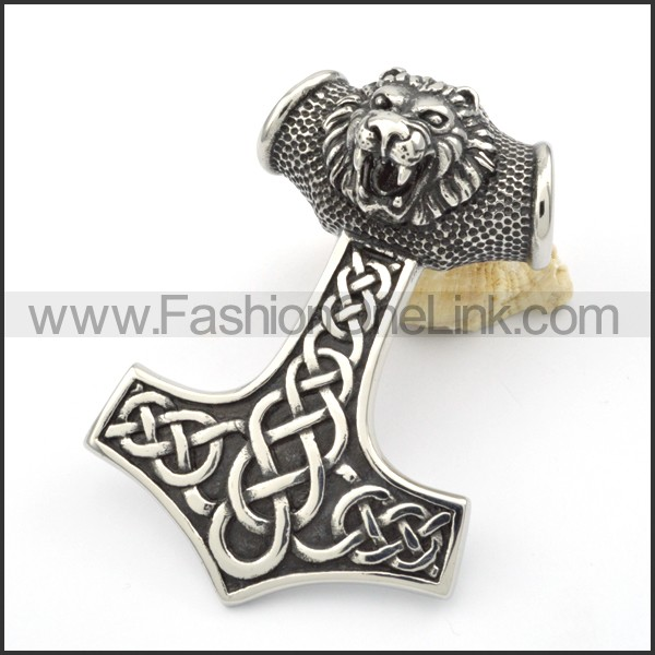 Exquisite Stainless Steel Big Pendant   p000345