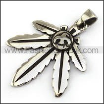 Exquisite Stainless Steel Casting Pendant   p003989