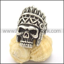 Popular Stainless Steel Skull Ring  r002128