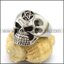 Unique Stainless Steel Skull Ring  r003211